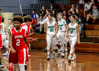 Mt Holly at Belmont Boys Basketball 2017