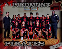 Piedmont Girls Basketball 2014