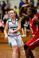 Mt Holly at Belmont Girls Basketball 2017