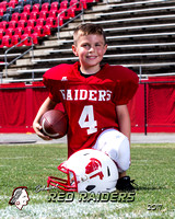 Red Raiders Tiny Mite Football Fall 2017