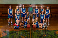 Belmont Middle Girls Basketball 2017