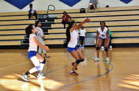 Garinger Volleyball vs East Meck 2014