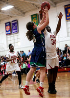 Belmont at Holbrook Girls Basketball 2017